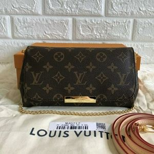 Louis Vuitton Favorite Bag New Check Description